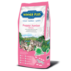 Winner Plus Holistic Puppy Junior - Безглютеновый полнорационный сухой корм для щенков и молодых собак (2кг)