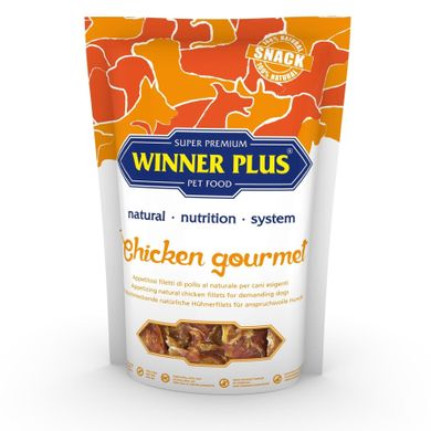 WINNER PLUS DogSnack Chicken Gourmet - Лакомство для собак с курицей